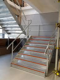 Galvanised Handrail Steel Staircases