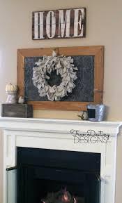 wreath canvas rustic farmhouse wreath shabby chic home decor