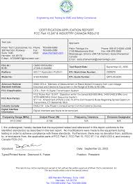 Ndu Attestation Letter 9160ra2060 9160 wireless gateway ra2060 test report certificate of