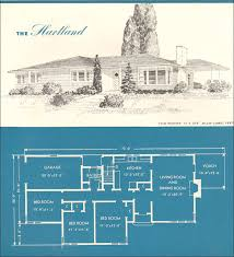 era house plans 1945 new era houses the hartland vintage house plans 1940s
