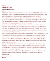 11 accounting cover letter word pdf free u0026 premium templates