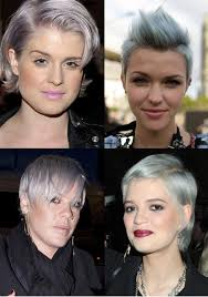 grey hairstyles for young women gray hairstyles silver hairstyles for young women the hairstyle