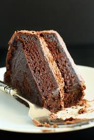 bowl vegan chocolate cake easy moist fluffy