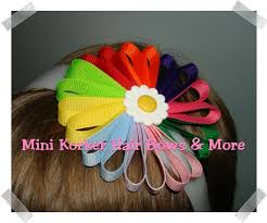 bow for hair mini korker hair bows more how to make a hair bow for scouts