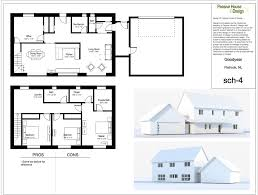 Saltbox House Floor Plans Floor Plans And Renderings