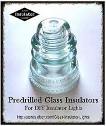 glass insulator light kit glass insulator pendant light kit diy insulator lights l parts