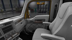 new truck kenworth kenworth t680 white gauges truck interior v1 2 american truck