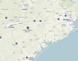 Victoria Texas Map Lazy F Working Guest Ranch In Texas Where Guests Can Learn To