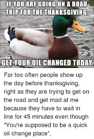 re goingon a road for the thanksgiving trip get your changed