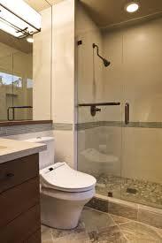 bathroom exquisite small bathroom decoration using round recessed
