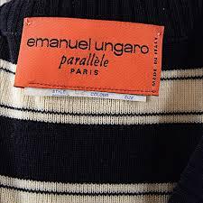 79 off emanuel ungaro sweaters emanuel ungaro paris navy ivory