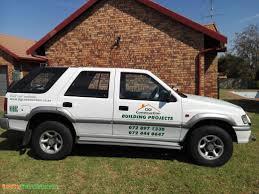 1999 isuzu frontier le used car for sale in vanderbijlpark gauteng