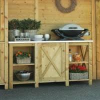 meuble cuisine exterieure bois jardin ambiance bois fréjus st raphaël aménagement extérieur