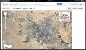 Google Maps Las Vegas by Growth Of Las Vegas Nevada 1984 To 2012 Earth Engine Landsat