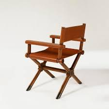 siege metteur en chaise classique de metteur en scène en cuir director
