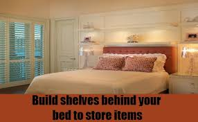 overhead bed storage 15 super clever bedroom storage ideas diy home life creative