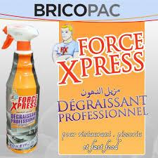 degraissant professionnel cuisine dégraissant professionnel 1l xpress produits d entretien