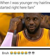 Lebron Hairline Meme - 25 best memes about hairline lebron james and lebron s