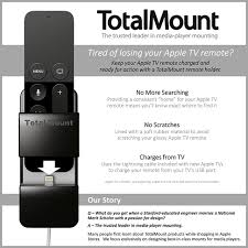 amazon com new totalmount apple tv remote holder safeguards