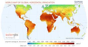 World Map Regions by Best Solar Power Regions Worldwide Alternative Energy Hq