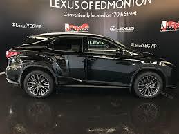 lexus of edmonton 170 street used 2017 lexus rx 350 4 door sport utility in edmonton ab l13316