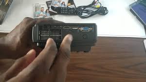 Lcd Q5 tenker q5 projector 1500 lcd projector 99