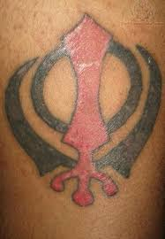 lion khanda tattoo pictures design idea for men and women