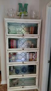 Bookshelves Glass Doors by Best 25 Barrister Bookcase Ideas On Pinterest Vintage Bookcase