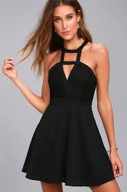my black dress lovely black lace dress lace skater dress cutout dress
