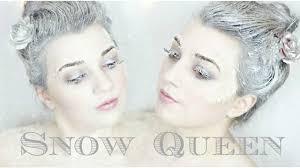 snow queen last minute halloween costume youtube