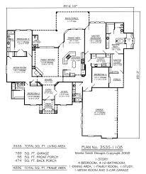 1 Story 4 Bedroom House Floor Plans 66 Best Floor Plan Possibilities Images On Pinterest Dream House