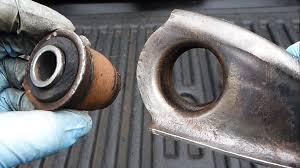 nissan frontier upper control arm how to replace control arm bushings easy youtube