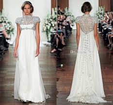 wholesale wedding dresses modest packham maternity wedding dresses high neck empire