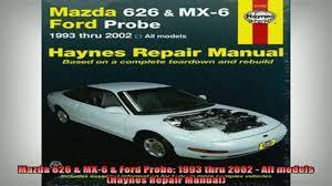haynes mx 6 repair manual ddl 100 images mazda car service