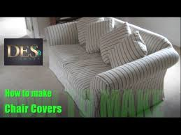 How To Make Chair Covers How To Make Chair Cover Of Arm Caps Youtube