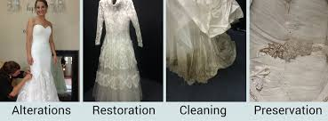 wedding dress restoration wedding gown care cleaners