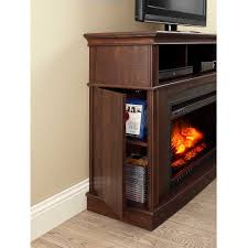whalen media fireplace console for tvs up to 45