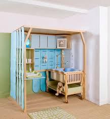 chambre loggia chambre d enfant de bébé bleue popspace espace loggia