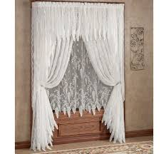 kitchen lace curtains clearance lace kitchen curtains