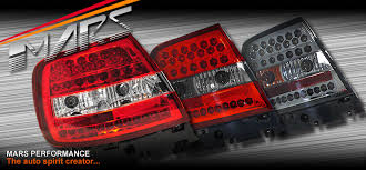 audi a4 tail lights clear red led taillight tail lights for audi a4 s4 b5 4 doors sedan
