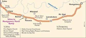 selma map alabama scenic drive the selma to montgomery byway howstuffworks