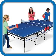 2 piece ping pong table eastpoint sports eps 3000 2 piece table tennis table 18mm top