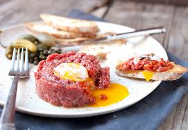 cuisine appetizer steak tartare at home so easy macheesmo