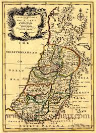 Map Of Isreal Map Of Twelve Tribes Of Israel