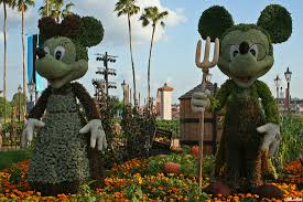 Mickey Mouse Topiary Mickey Mouse Makin U0027 Memories