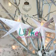 Lighted Christmas Star Window by 2014 Newly Hanging Star Lantern Paper Star Window Display