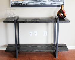 Narrow Tables Narrow Console Table Etsy