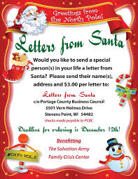letters from santa letters from santa portage county wi