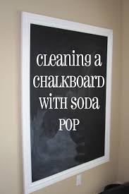 Chalk Board Wall Stickers I Really Should Be Sleeping How To Really Clean A Chalkboard