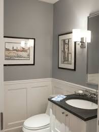 wainscoting bathroom ideas before and after updating a half bath and laundry half baths